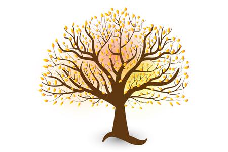 Tree vector Illusztráció