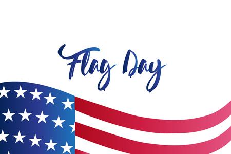 Flag independence day render background vector image