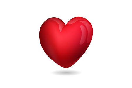 Heart symbol vector Imagens - 122800530