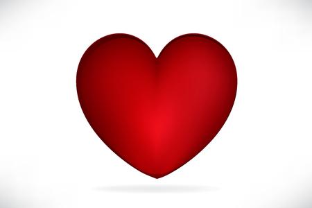 Red love heart Imagens - 122800534