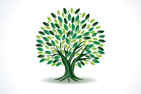 Tree ecology vector symbol image design Banque d'images - 129485224