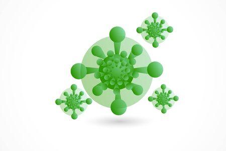 Corona virus icon isolated vector image design