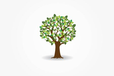 Tree symbol of life  vector image design Иллюстрация