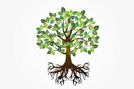 Tree symbol of life vector image design