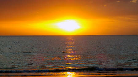 Beautiful Sunset in Clearwater Beach Tampa Florida Picture Background