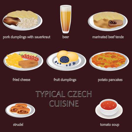 few: typical czech cuisine - few typical czech food