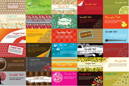 coffee company: 30 horizontal business card