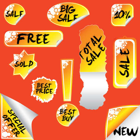 total: stickers: sale, total sale, big sale, new, special offer
