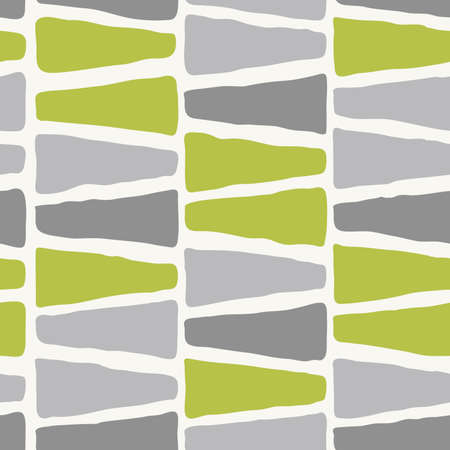 seamless pattern - green and gray colors Illustration
