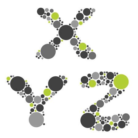 letter x: alphabet - part seven - X, Z, Z