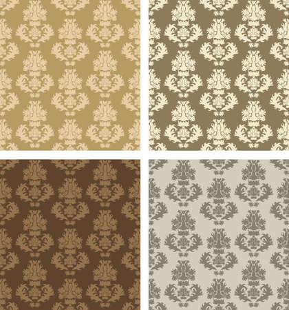 wallpaper: damask patterns