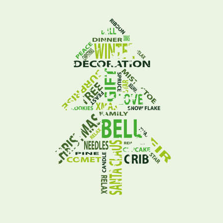 tree with text Vector