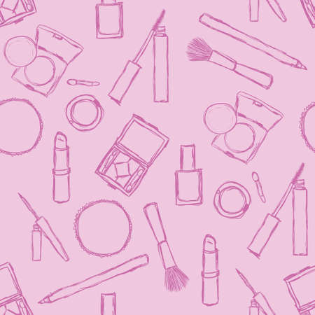 make up brush: cosm�ticos sin fisuras patr�n