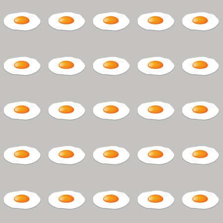 huevos fritos: huevos seamless pattern