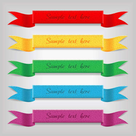 yellow ribbon: set of  ribbons