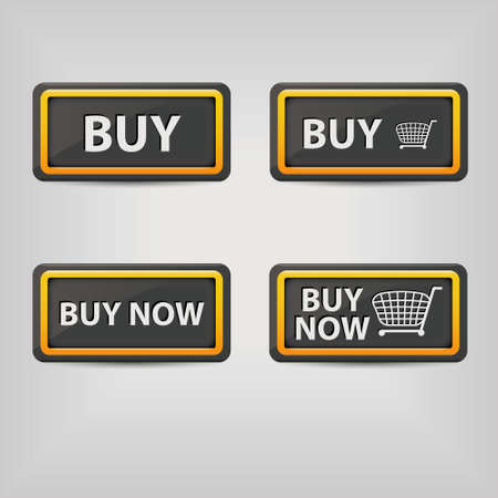 buy buttons Vector