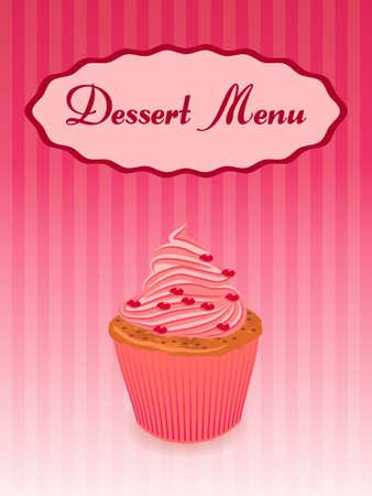 candy shop: dessert menu