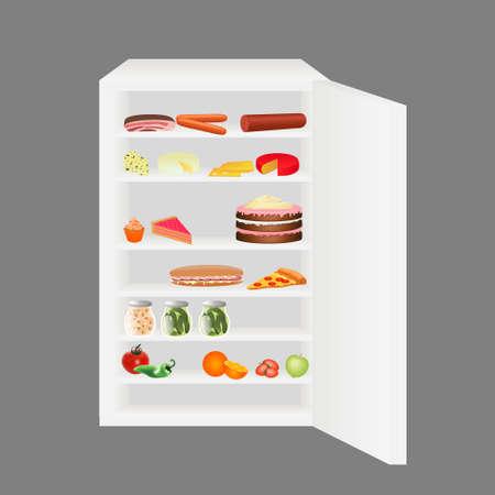 fridge: full fridge
