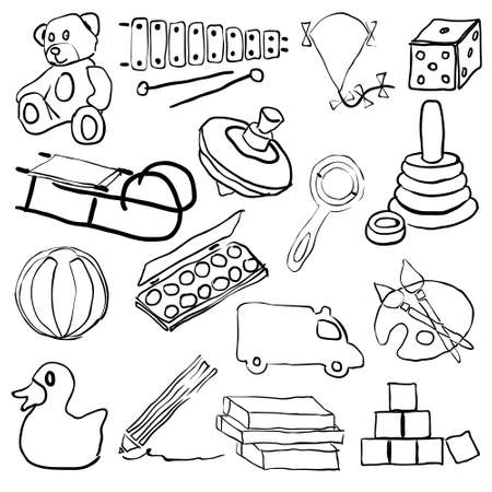 doodle toys Stock Vector - 14952857