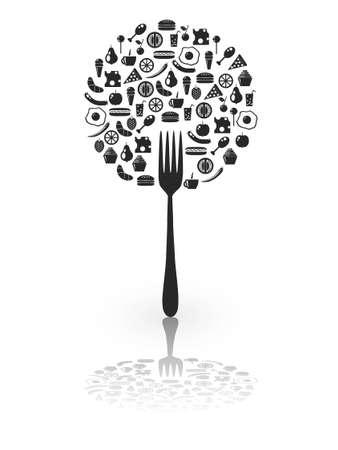 lemon tree: food on the fork