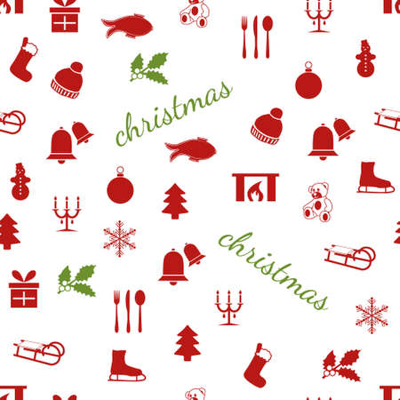 seamless christmas pattern Stock Vector - 15073150