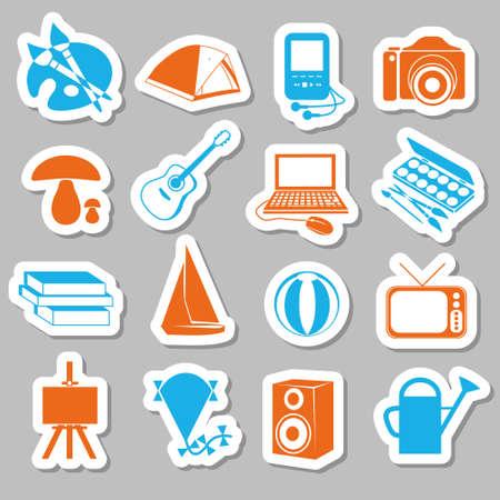 hobby stickers