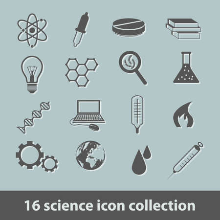 handglass: science icon collection
