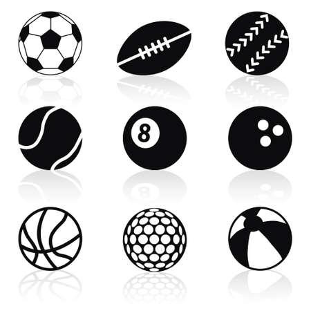 sport balls: sport balls collection Illustration