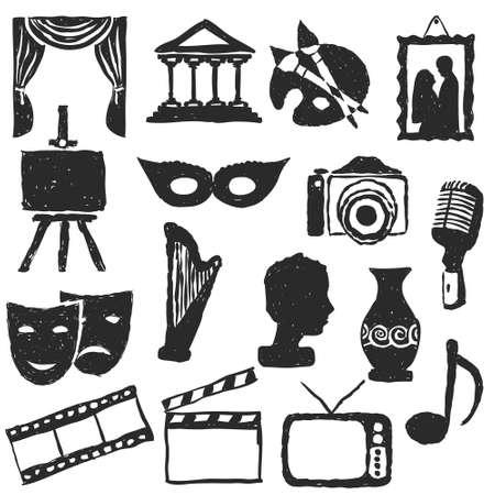 doodle culture pictures Illustration