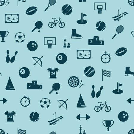 bike cover: seamless sport pattern