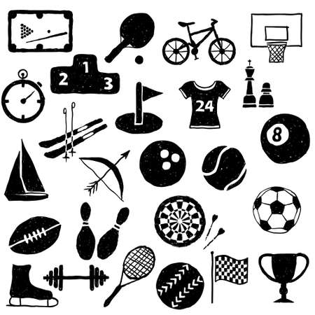 doodle sport images Stock Vector - 17065960