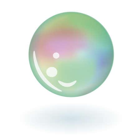 soap bubble Stock Vector - 17450616