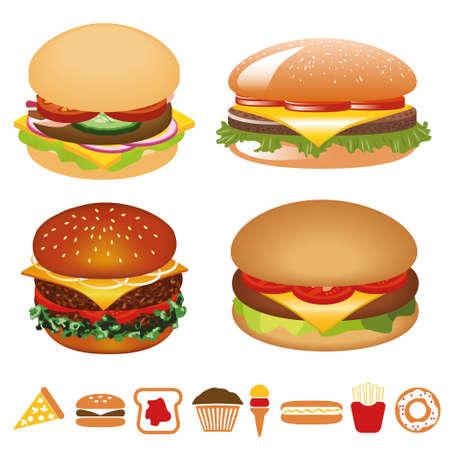 gourmet burger: hamburger collection