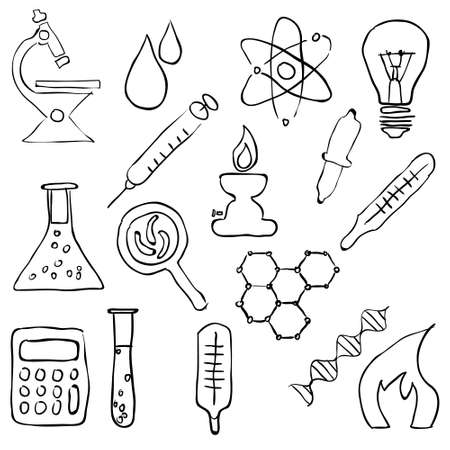 sketch laboratory images Stock Vector - 17631308