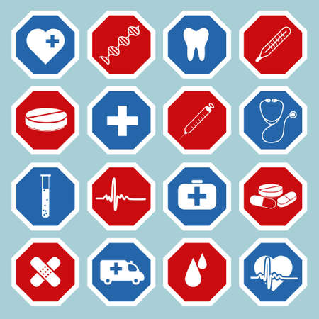 medical icons Stock Vector - 17761401