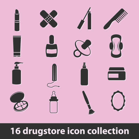 nipple girl: 16 drugstore icon collection