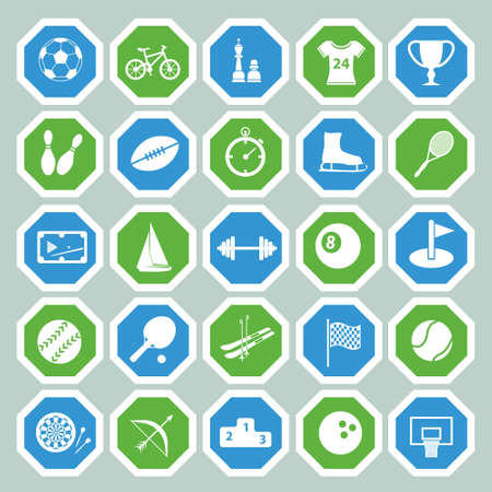 25 sport icon collection Vector