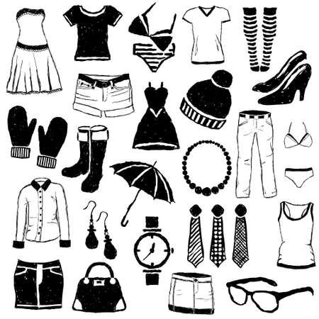 jeans skirt: doodle fashion images