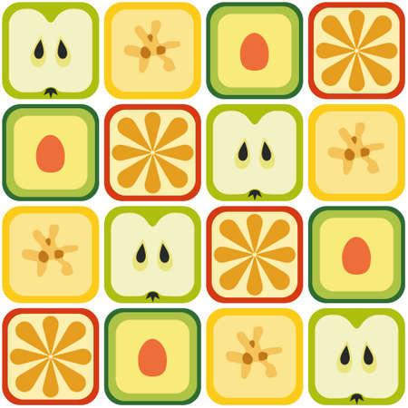 avocados: seamless fruits pattern