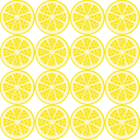 seamless lemon pattern Stock Vector - 21850919