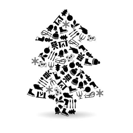 christmas tree Stock Vector - 21933972