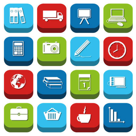 briefcase icon: business icons Illustration