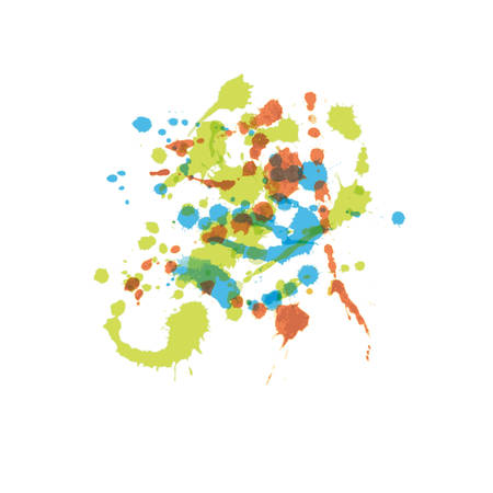 watercolor splash Vector