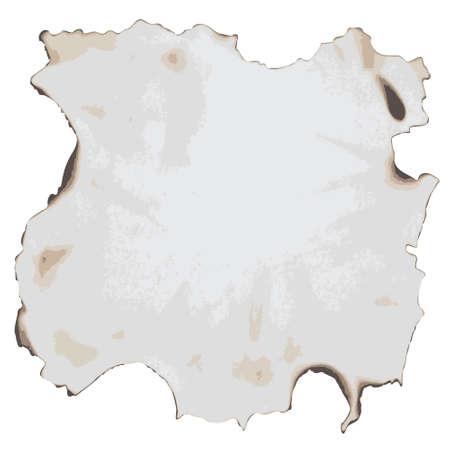 burnt paper: burnt paper Illustration