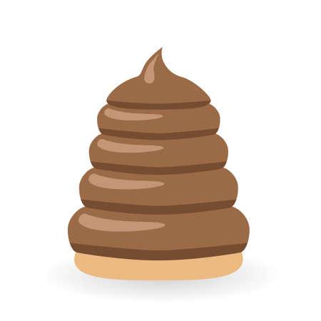 eclair: chocolate dessert