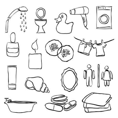 cram: doodle bathroom images