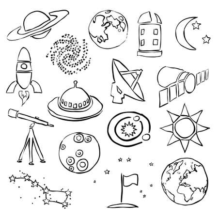 observatory: doodle space images