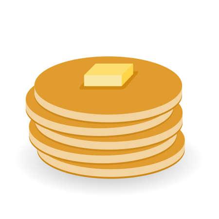 pancake: pancakes with butter