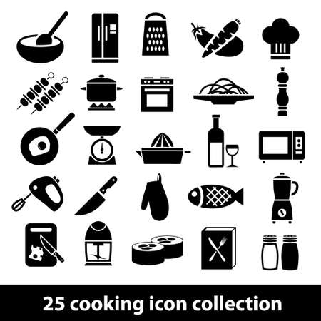 kitchen scale: cooking icons