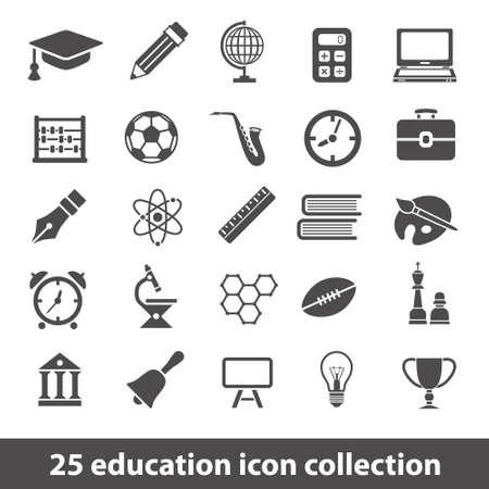 onderwijs iconen
